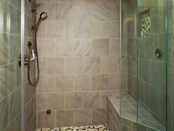 Simple Steam Shower Design