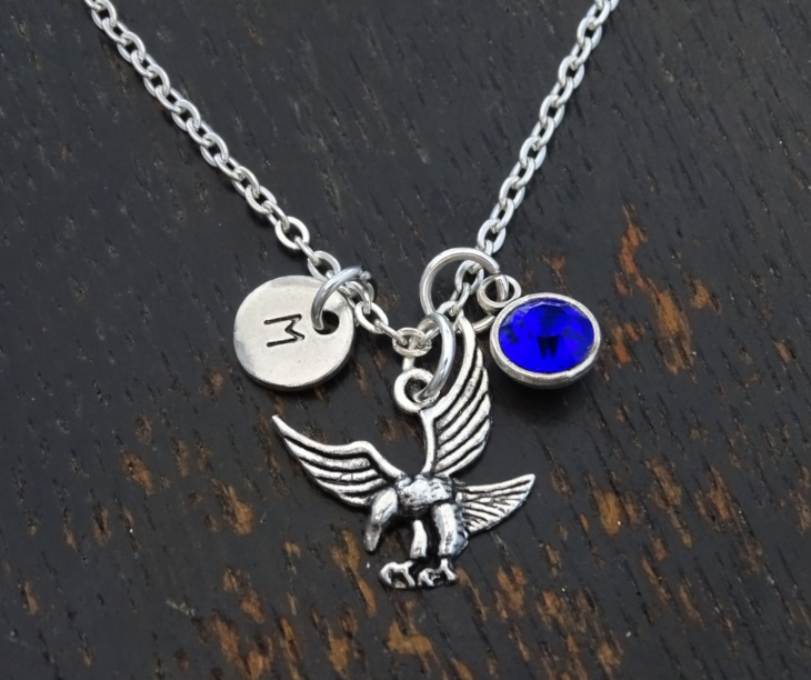 Charm Eagle Necklace