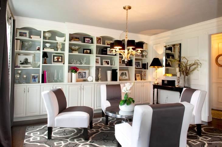 20+ Living Room Corner Shelve Designs, Ideas | Design Trends ...