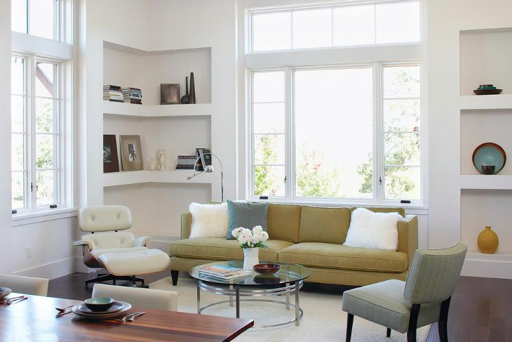 Corner Rack for Living Room