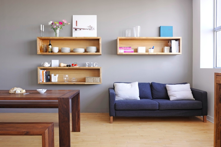 Modern Wall Shelves Idea