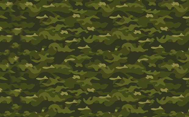 military camo pattern