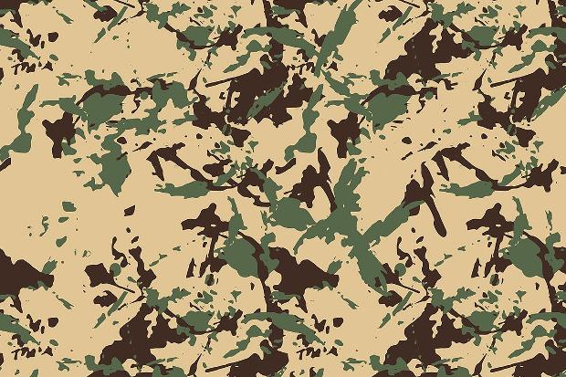 Fabric Camo Pattern