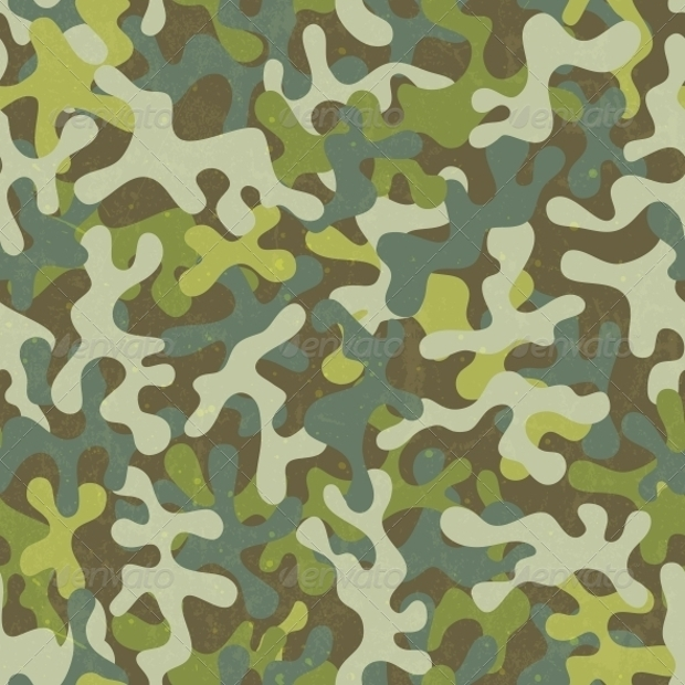 green grunge camo pattern
