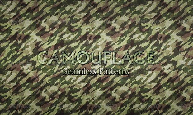 Realistic Camo Pattern