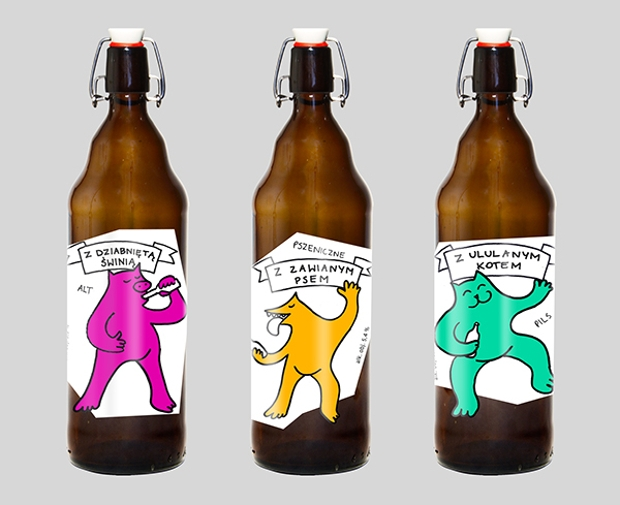 Animal Beer Label
