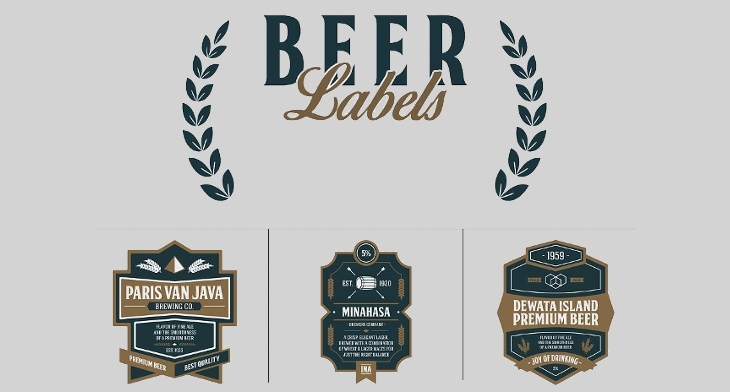 beer label template illustrator 20  Beer Labels - PSD, EPS, AI, Illustrator | Design Trends ...
