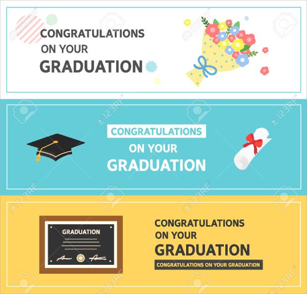 graduation horizontal banner