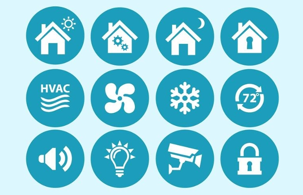 Home Automation Interface Icons