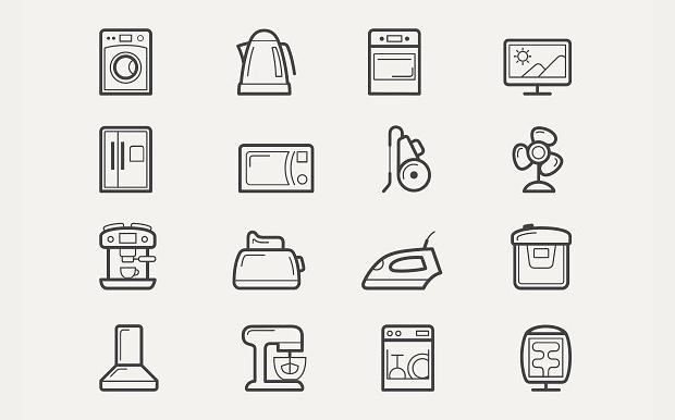 Home Line Icons