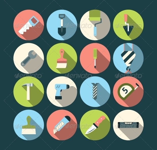 Home Repair Tool Icons