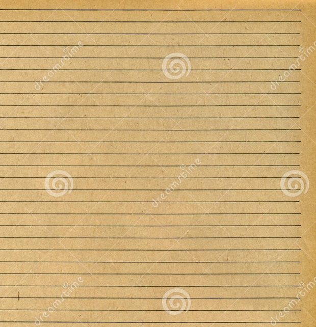 old lined paper texture