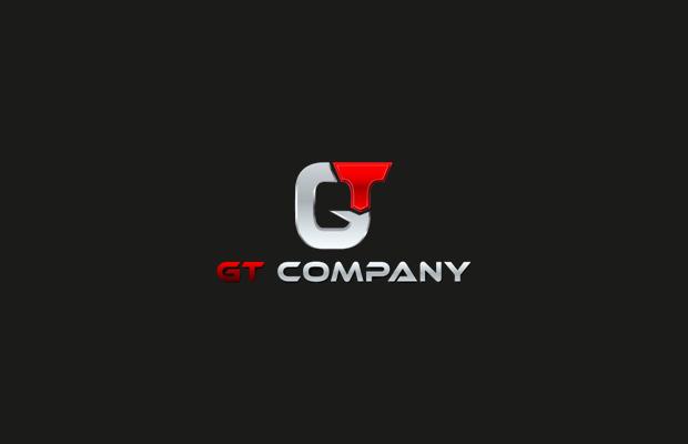 gt company logo design
