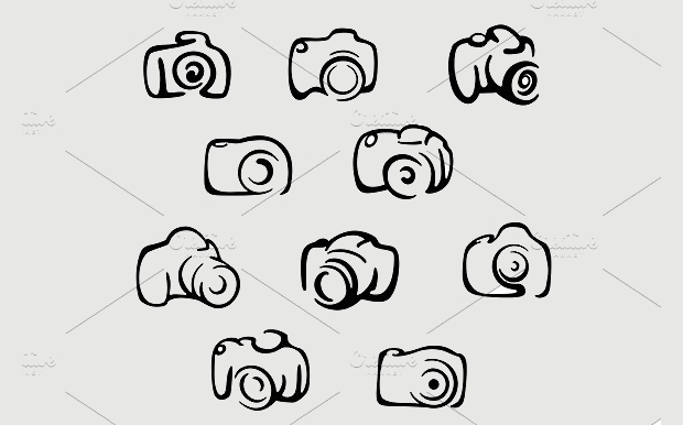 Camera Symbol Icons