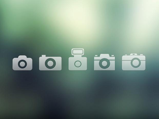 Free PSD Camera Icons