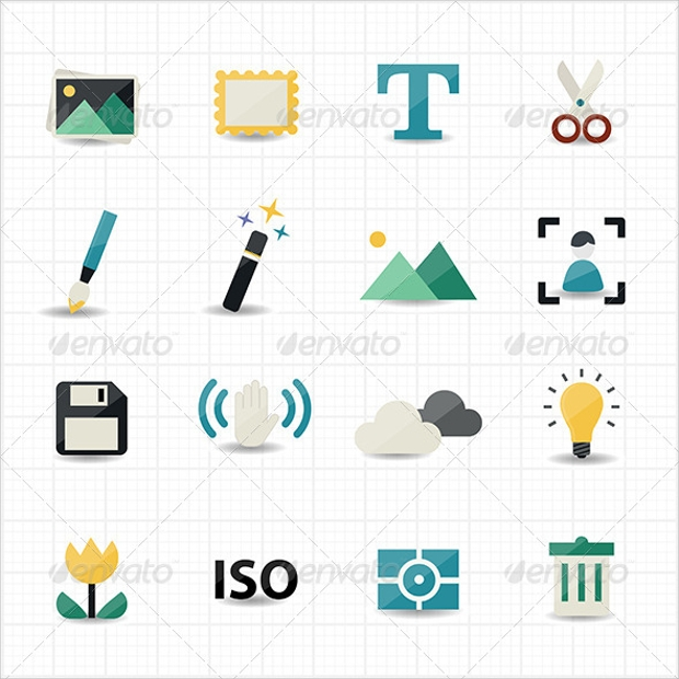 Photography and Camera Icons