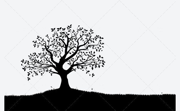 Small Tree Silhouette