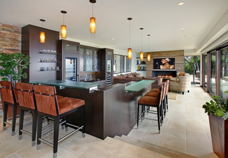 Luxury Home Bar Design
