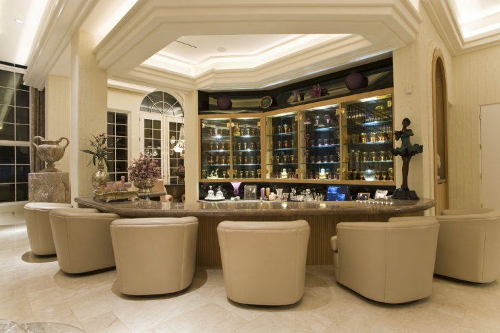 Luxury Home Bar Furniture Design