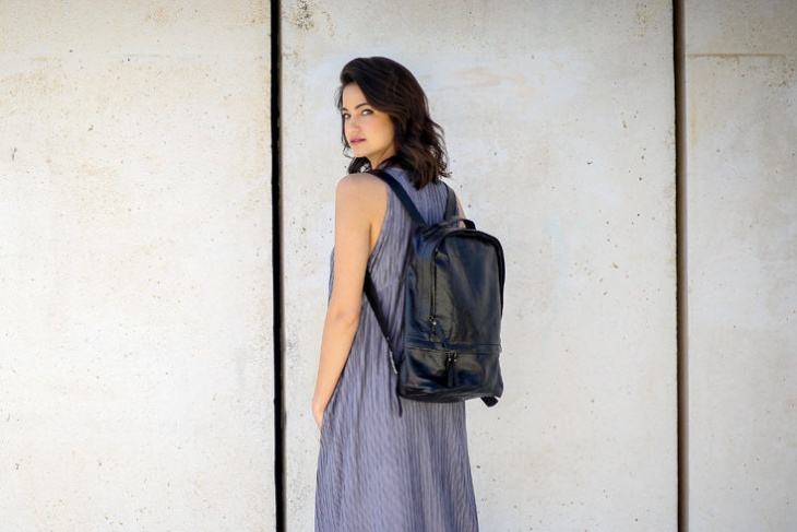 Slim Laptop Backpack Design