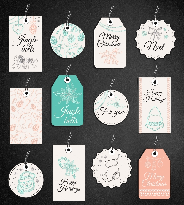 Christmas Gift Tag Design