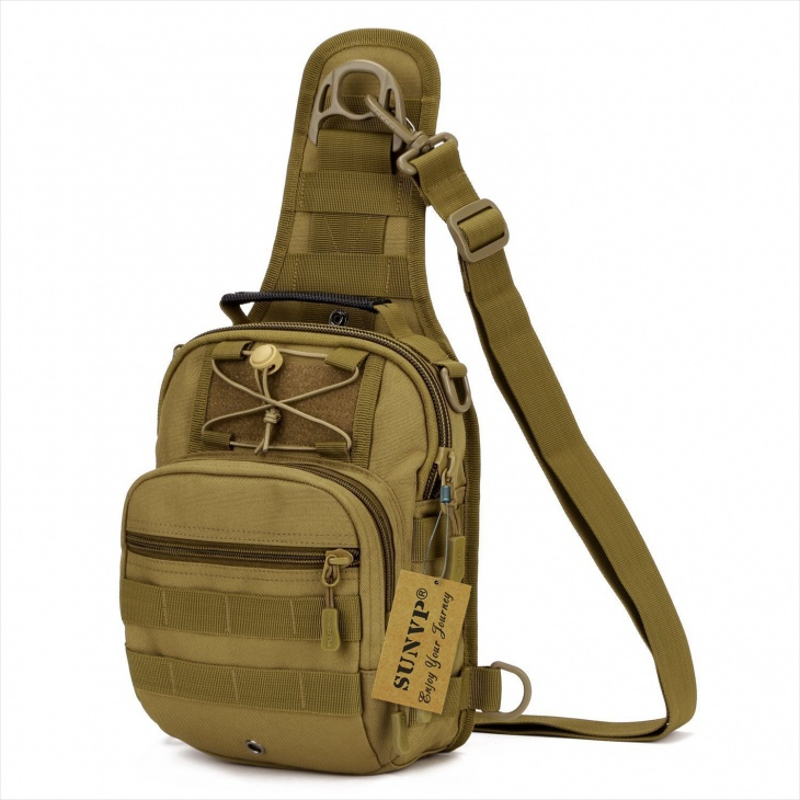 Military Sling Backpack Design
