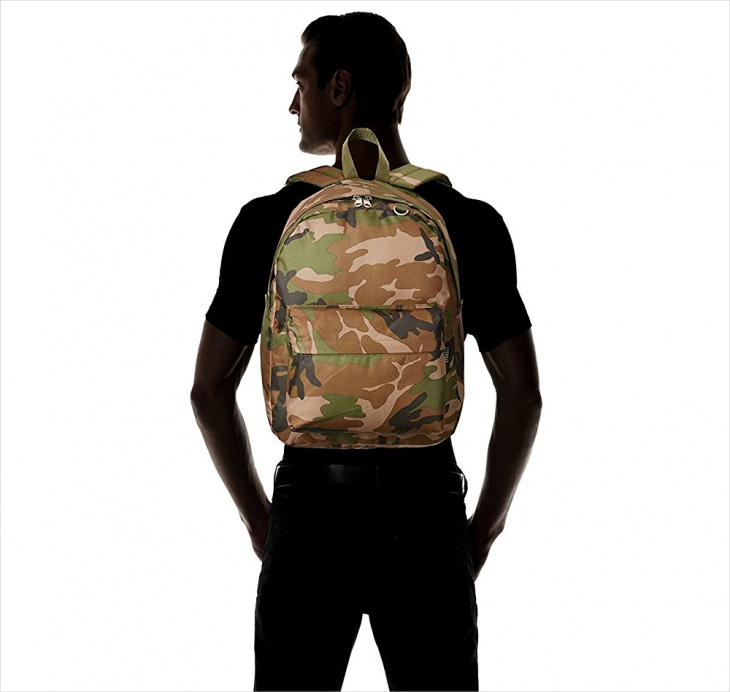 Small Camo Backpack Design