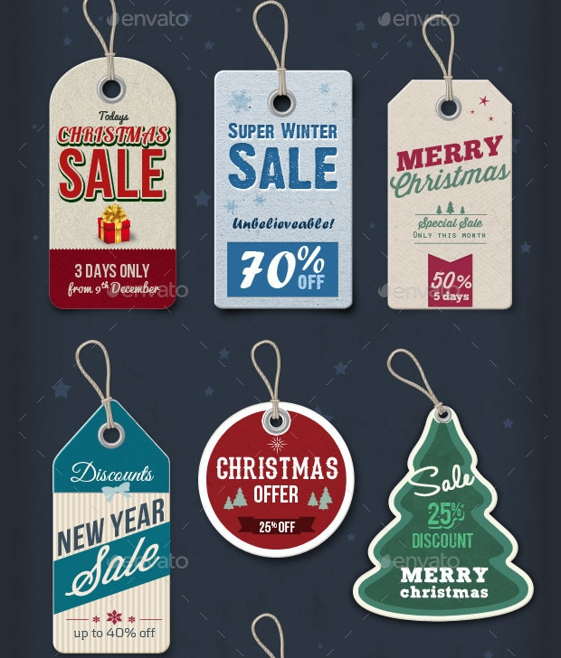 Christmas Price Tag