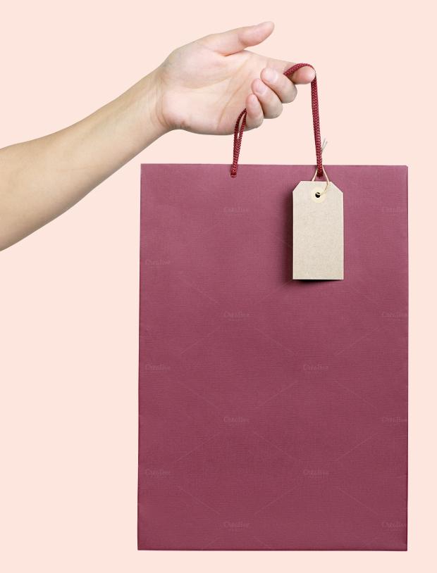 Paper Bag Tag