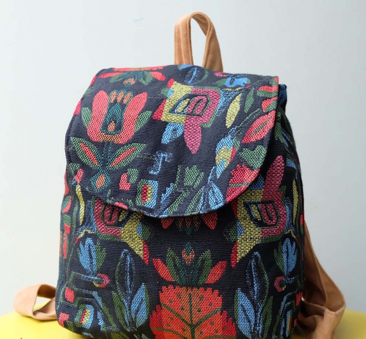Floral Tribal Backpack