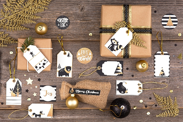 Printable Christmas Tag Design