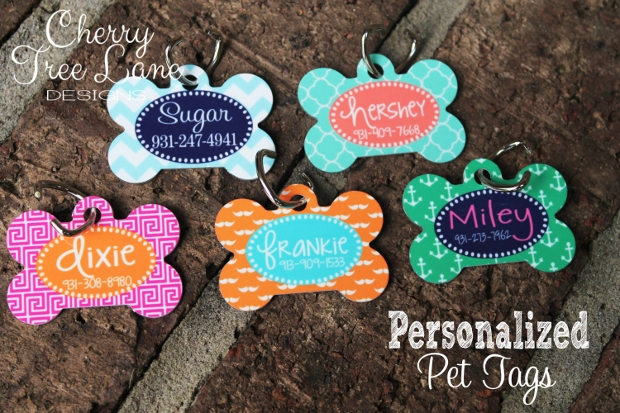 Dog Name Tag Design
