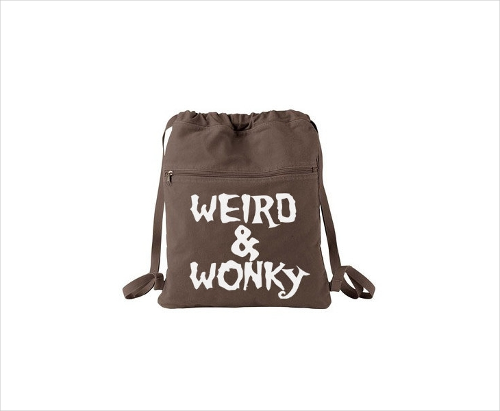 Funny Drawstring Backpack