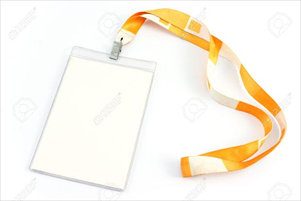 Blank Id Tag