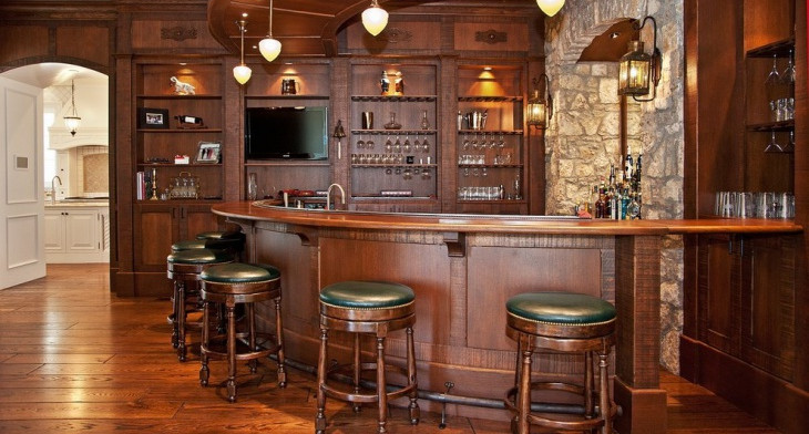 40+ Home Bar Designs, Ideas | Design Trends - Premium PSD, Vector ...