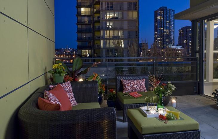apartment balcony interior idea