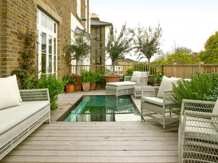 rustic balcony garden design