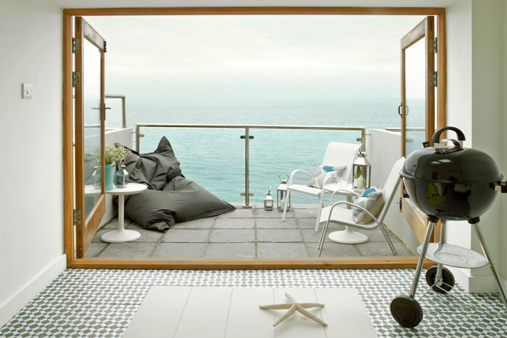 loft window balcony design