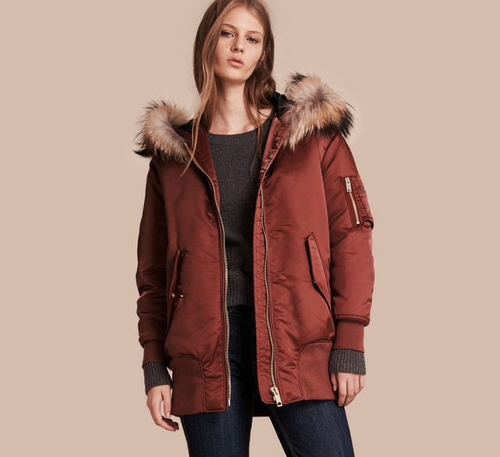 Womens Winter Jacket with Hood