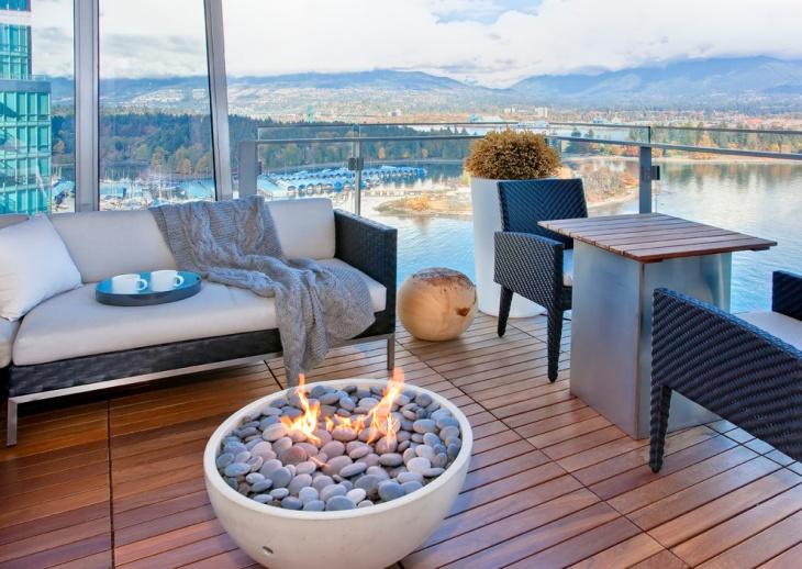 small condo balcony design