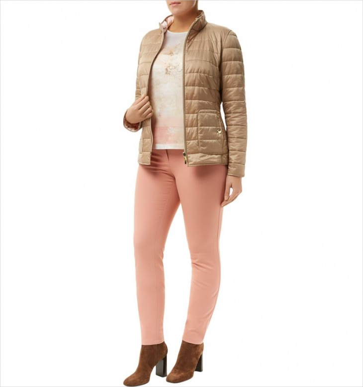 Women's Quilted Puffer Jacket