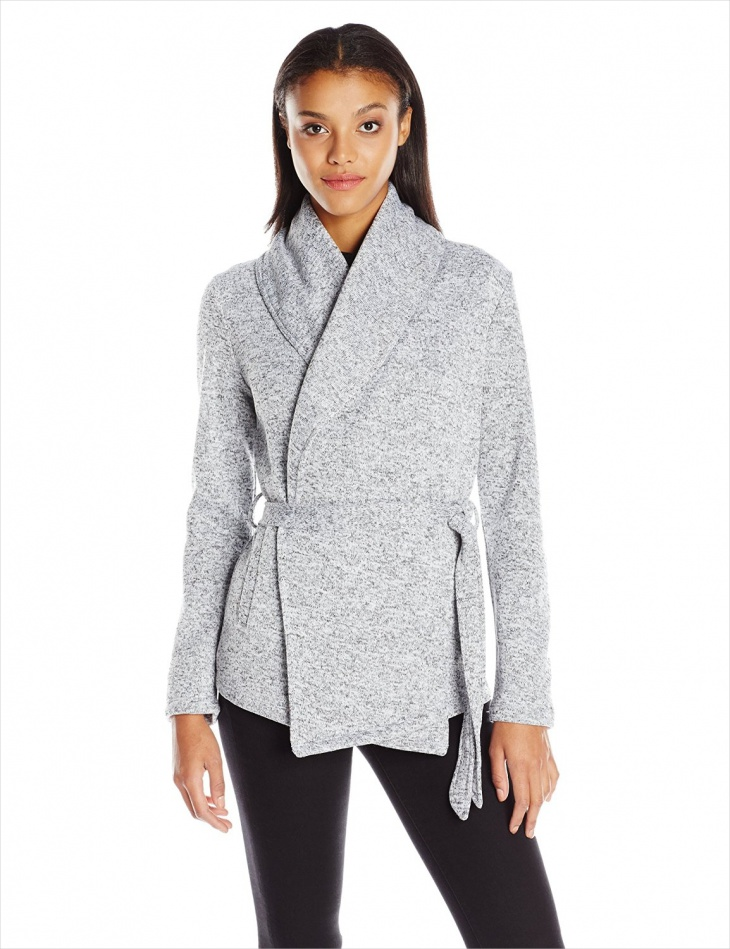 Women's Fleece Wrap Jacket