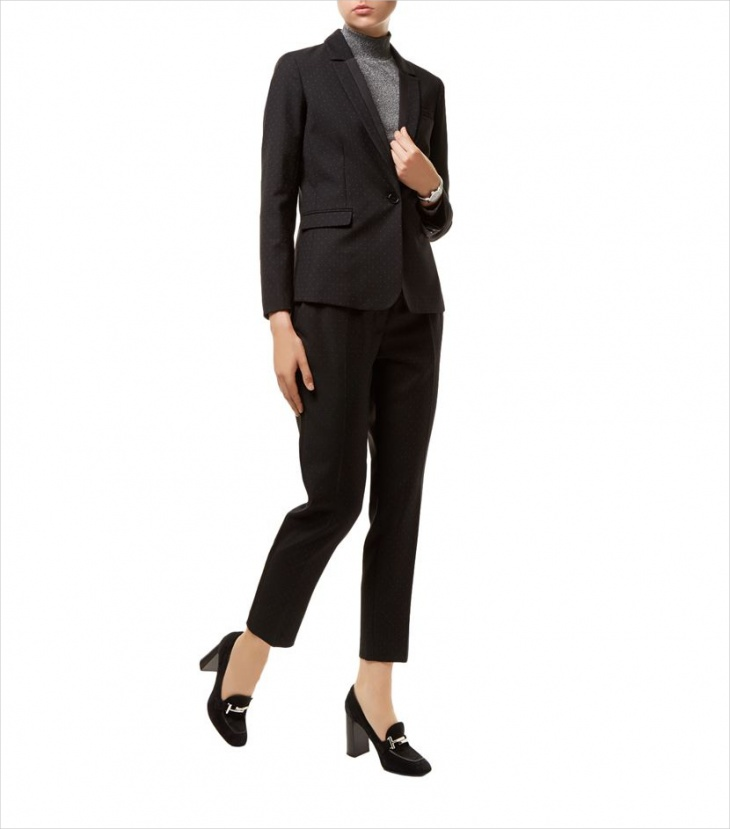 Black Suit jacket for Women