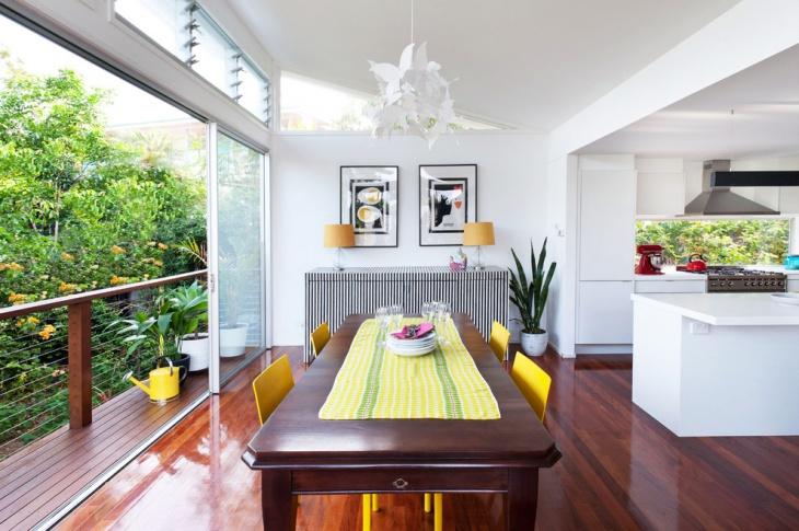 partment kitchen balcony design