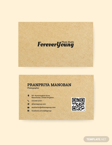 vintage style business card1