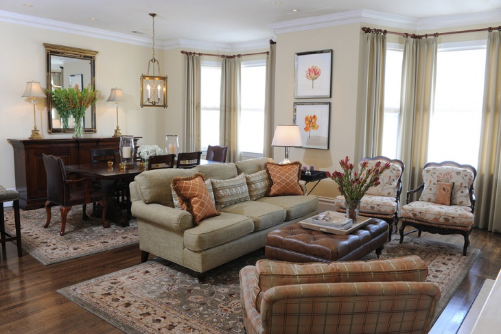 Traditional Living Room Furniture Design