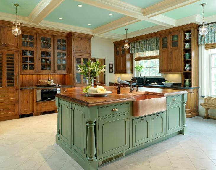 Kitchen Wooden Cabinet Design