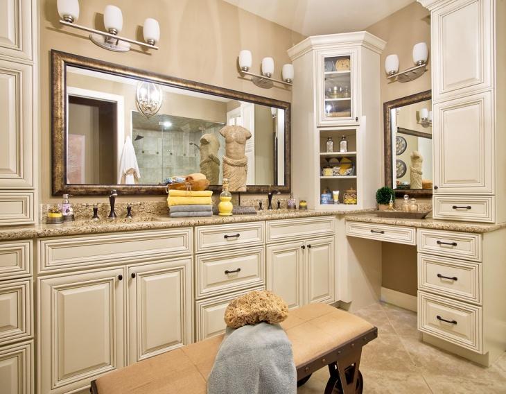 Bathroom Corner Cabinet Design