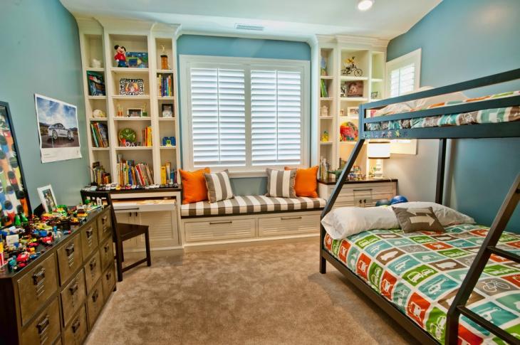 Kid's Bedroom Cabinet Design
