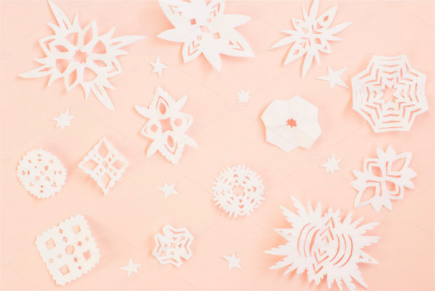 simple paper snowflake design